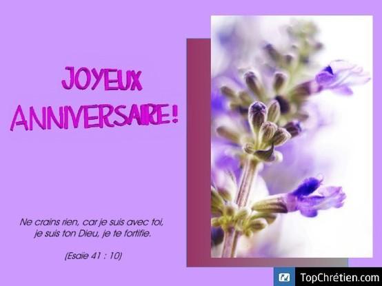 Joyeux Anniversaire De Topchretien Carte Virtuelle Anniversaire