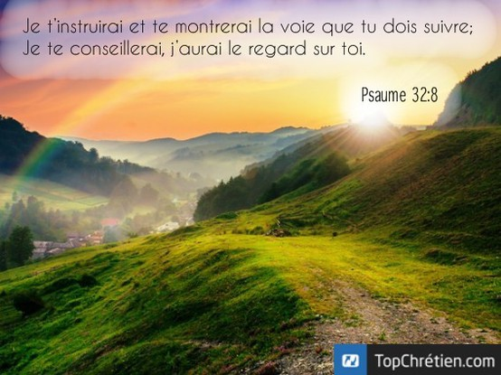 Psaume 32:8