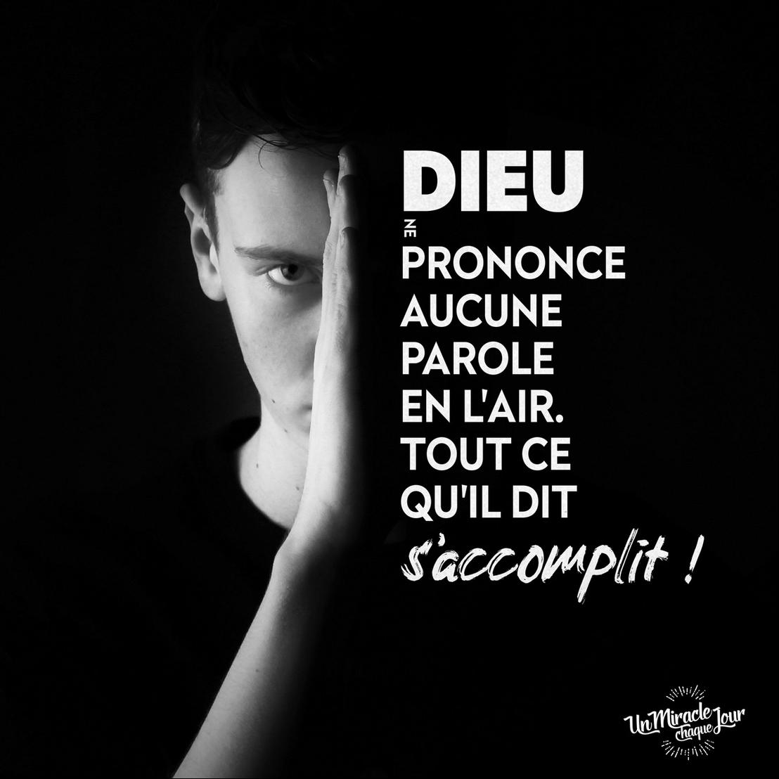 Les promesses de Dieu sont pour vous, Mon ami(e) !