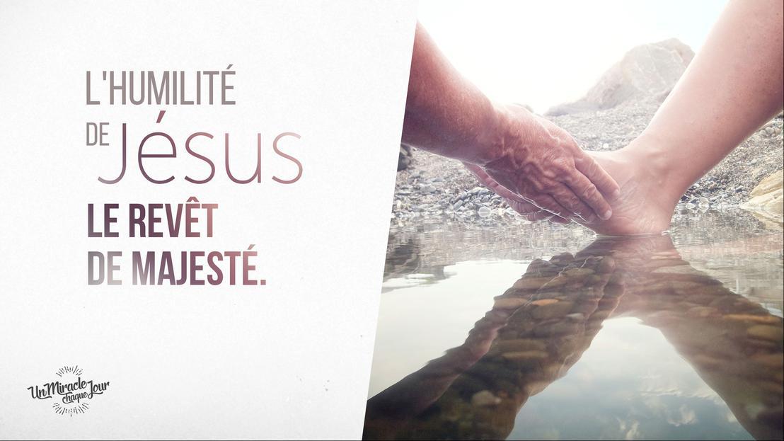 Jésus, votre modèle d'humilité parfait