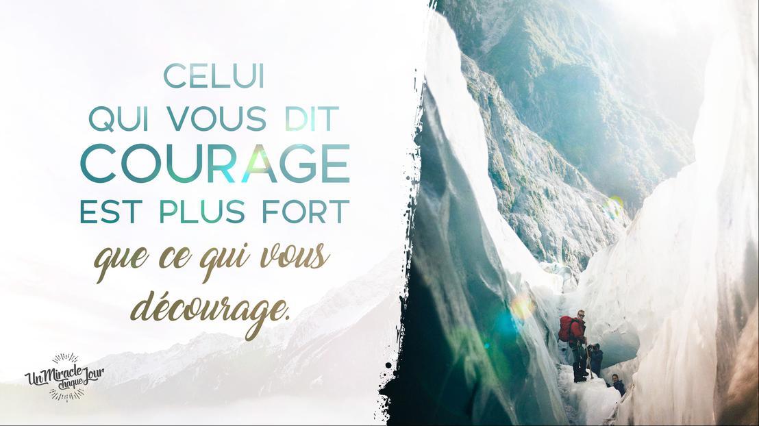 """Le Seigneur vous dit : """"Courage !"""""""