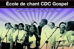 La CDC Gospel School est une école de chant dédiée au Gospel. Une méthode solide et efficace.