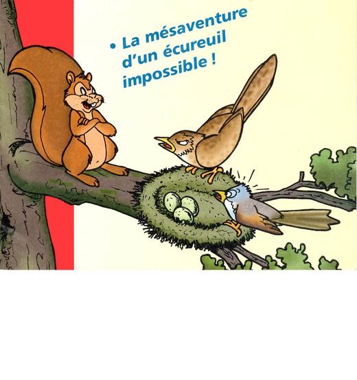Un écureuil impossible - voilà Wally