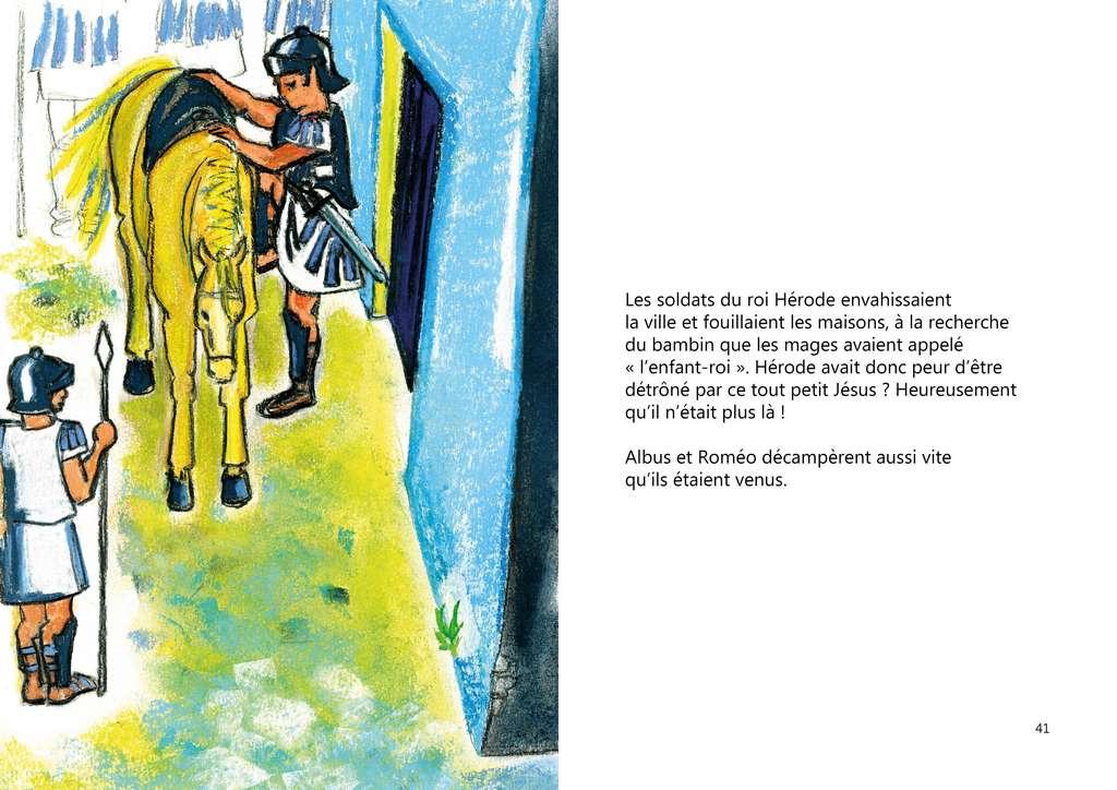 ALBUS ET L'ETOILE QUI DANSE - page 19