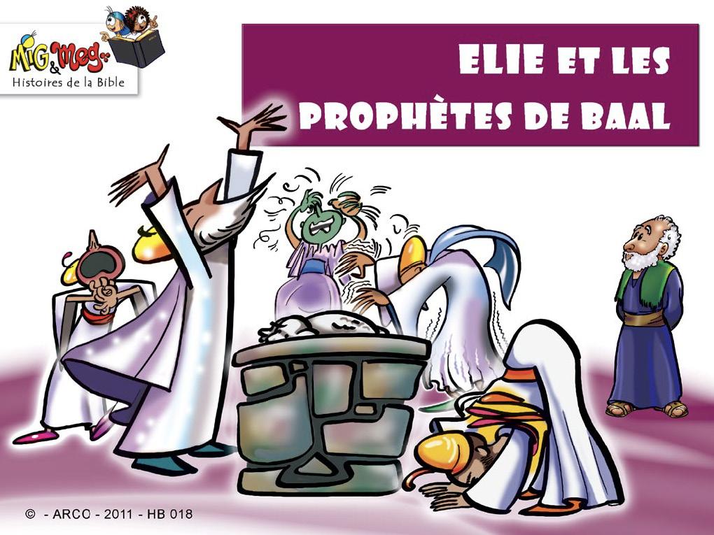 Elie et les prophètes de Baal
