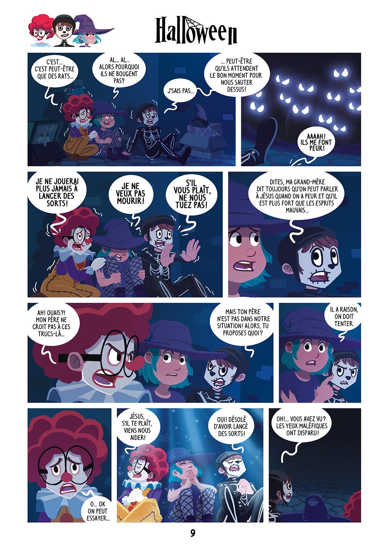 Une Nuit Terrifiante ! - page 9