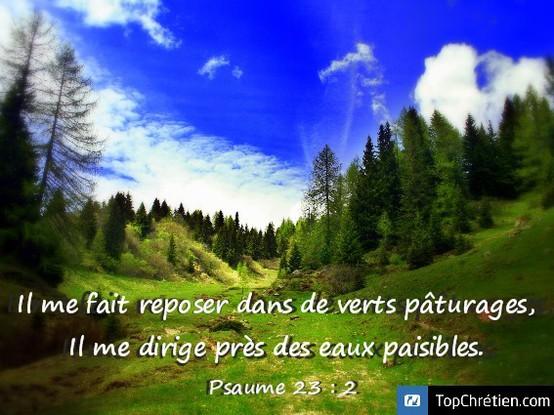 Psaume 23:2