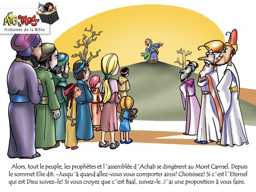 Elie et les prophètes de Baal - page 7