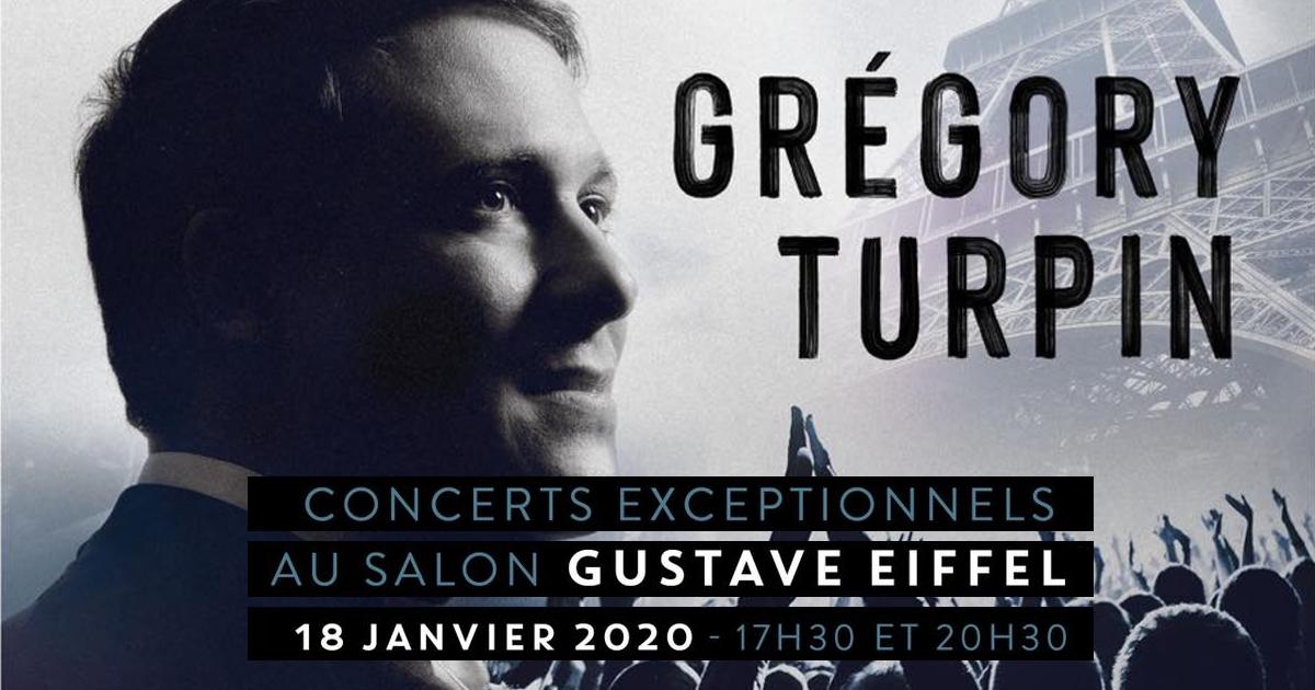 Grégory Turpin en concert à la Tour Eiffel