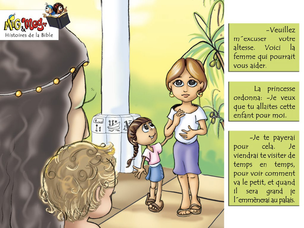 La naissance de Moïse - page 13