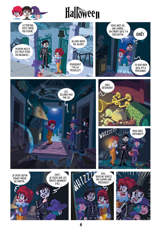 Une Nuit Terrifiante ! - page 6