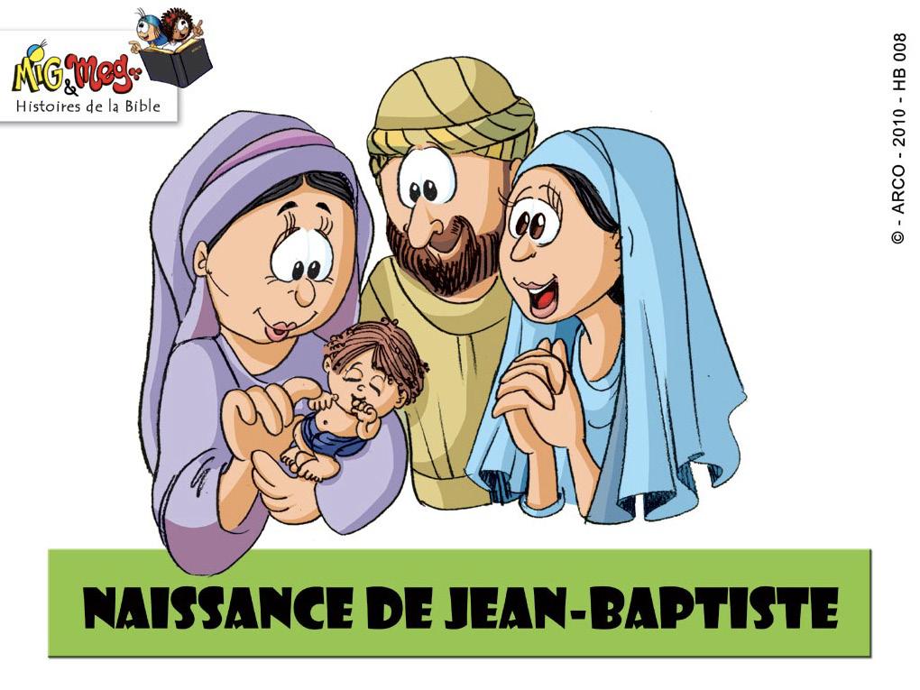 Naissance de Jean-Baptiste