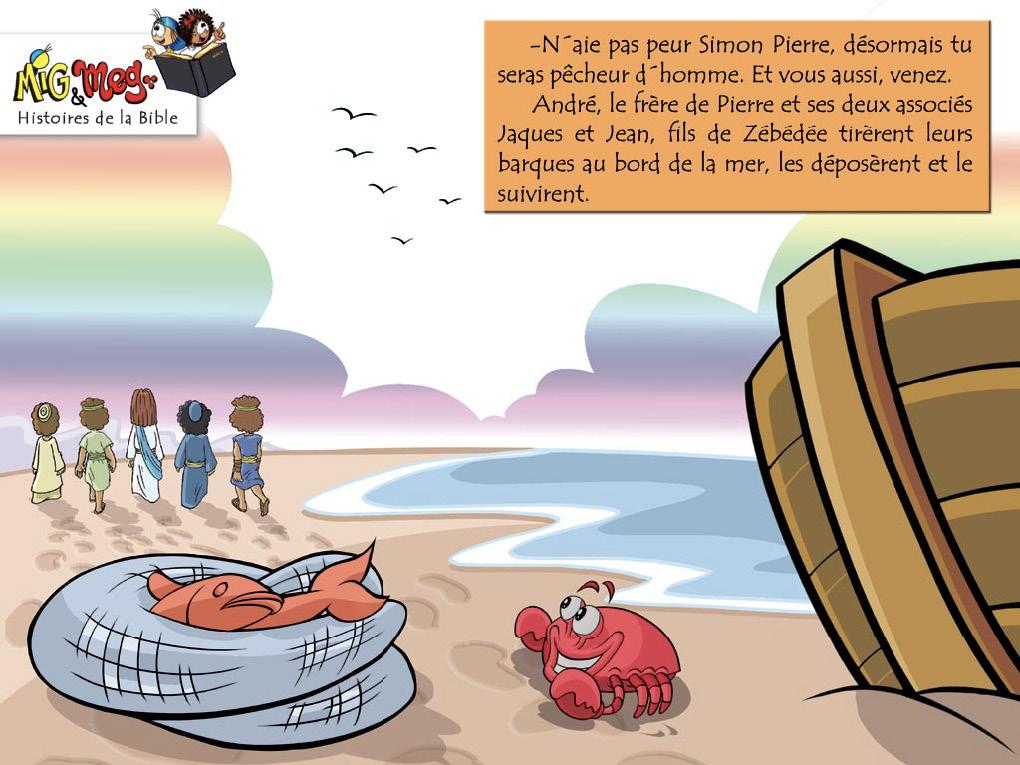 Jésus appelle ses disciples - page 11