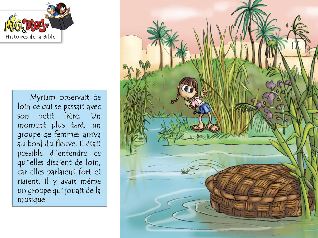La naissance de Moïse - page 8