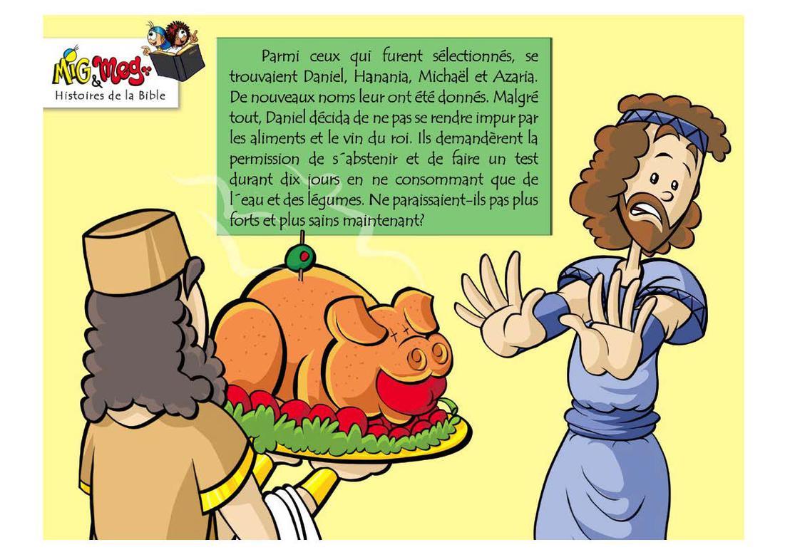 Daniel et le Rêve du Roi - page 3