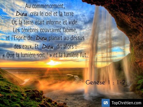Genèse 1:1-2