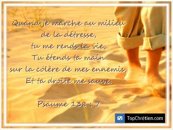 Psaume 138:7