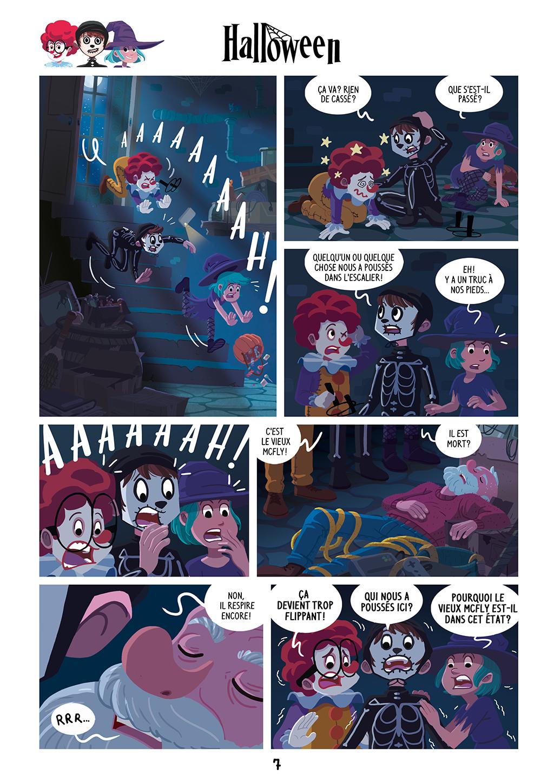 Une Nuit Terrifiante ! - page 7