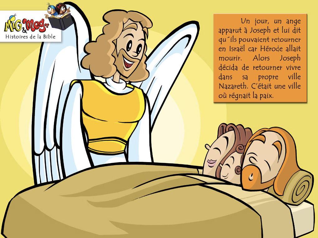 Jésus retourne à Nazareth - page 3
