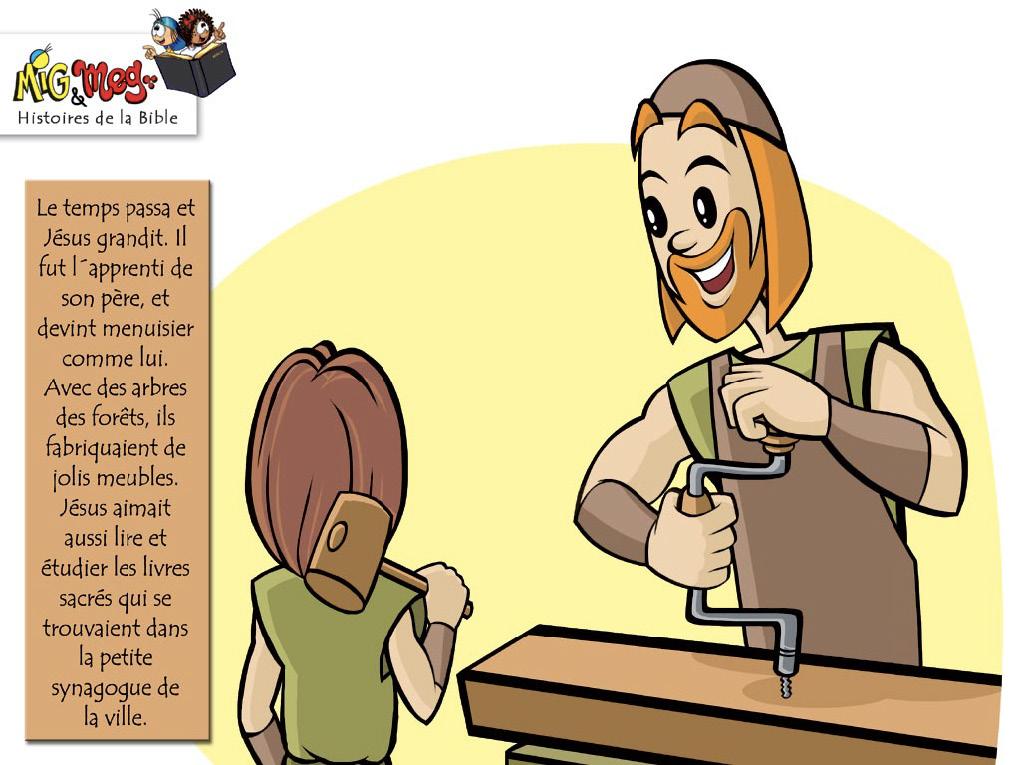 Jésus retourne à Nazareth - page 5