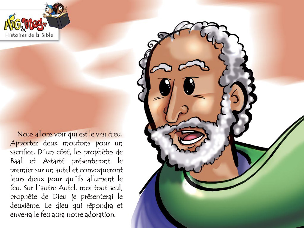 Elie et les prophètes de Baal - page 8