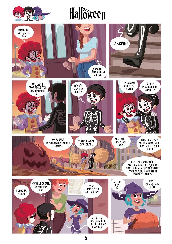 Une Nuit Terrifiante ! - page 3