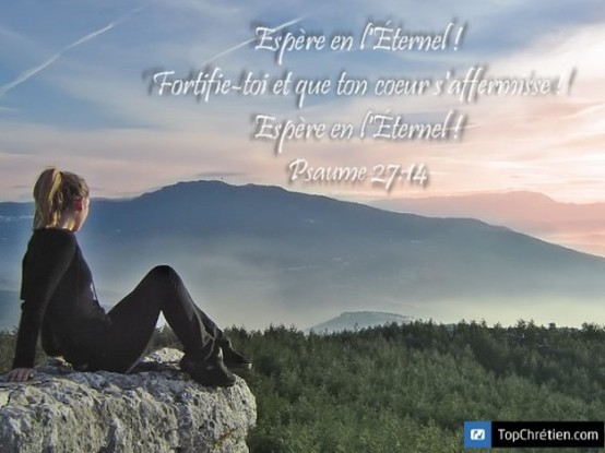 Psaume 27:14
