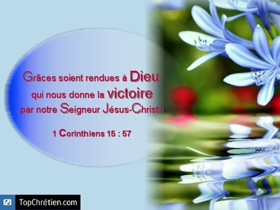 1 Corinthiens 15:57
