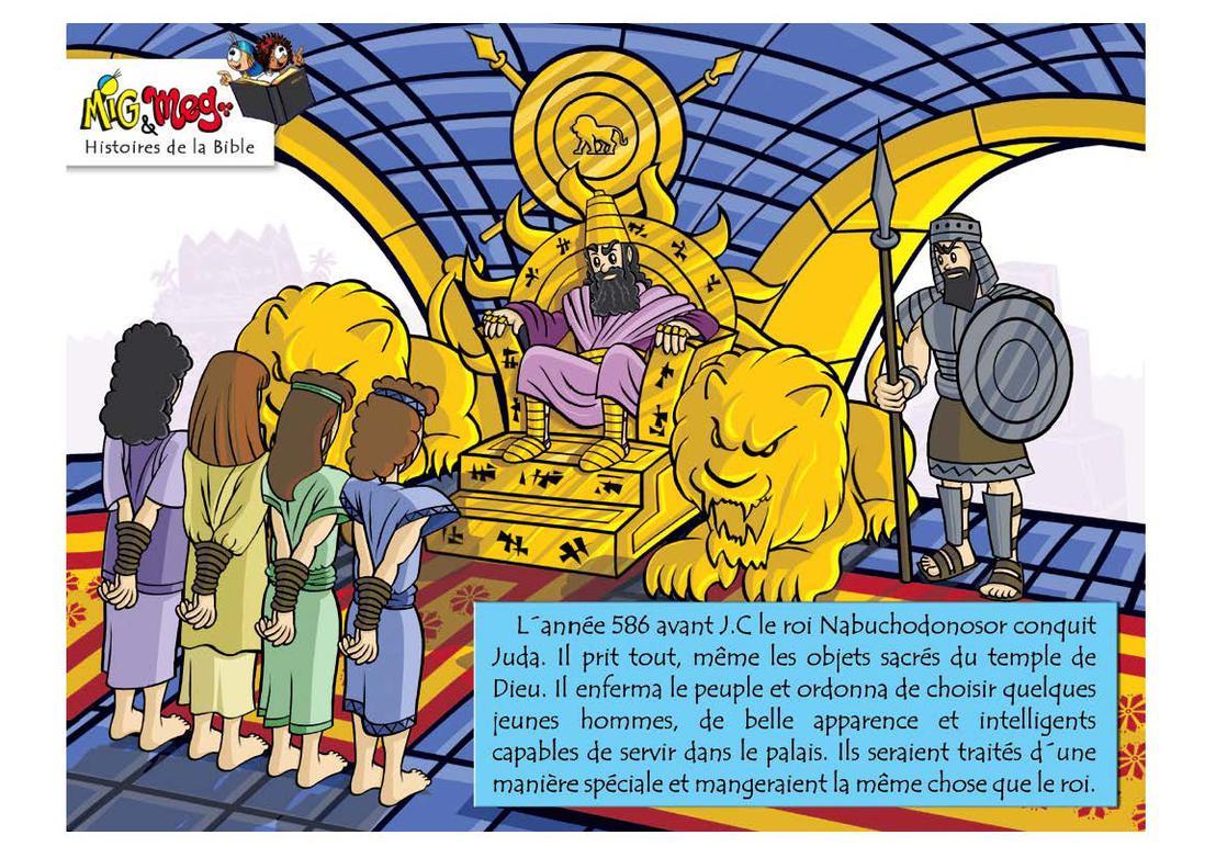 Daniel et le Rêve du Roi - page 2