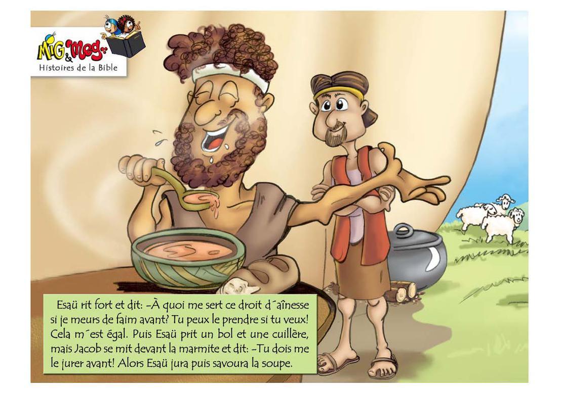 Esaü et Jacob - page 3