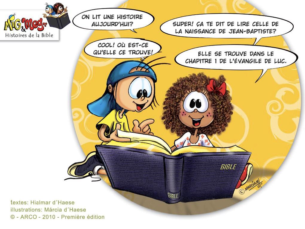 Naissance de Jean-Baptiste - page 1