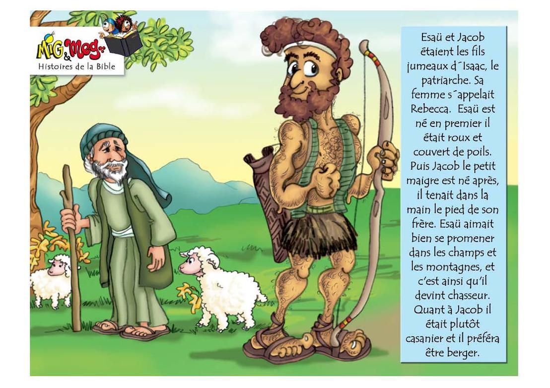 Esaü et Jacob - page 2