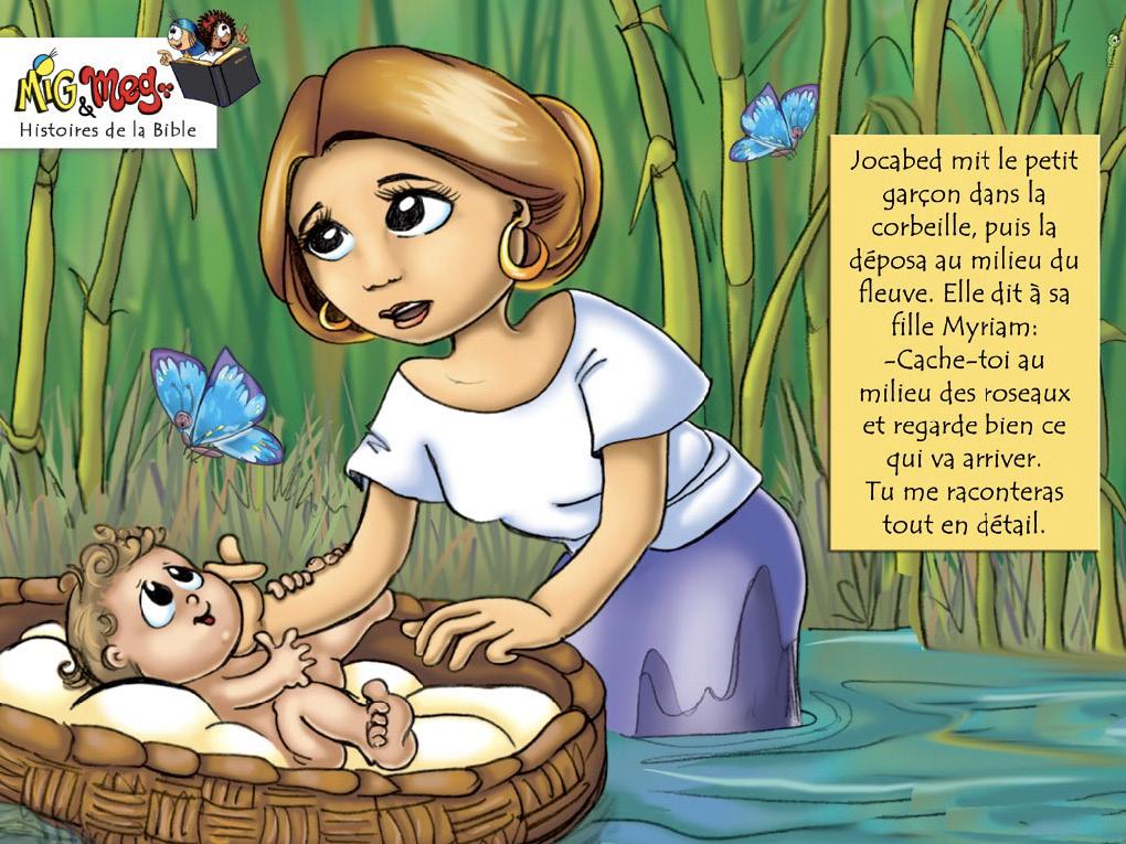 La naissance de Moïse - page 7