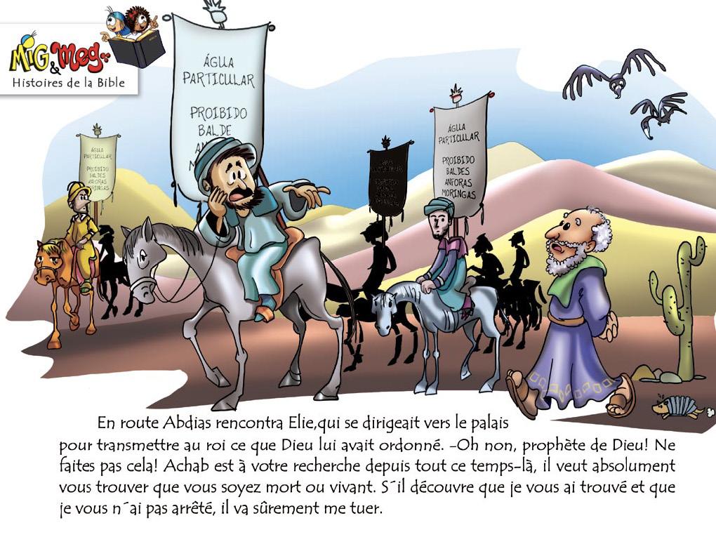 Elie et les prophètes de Baal - page 5