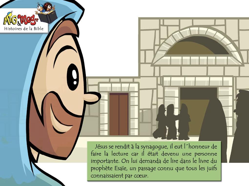 Jésus retourne à Nazareth - page 8