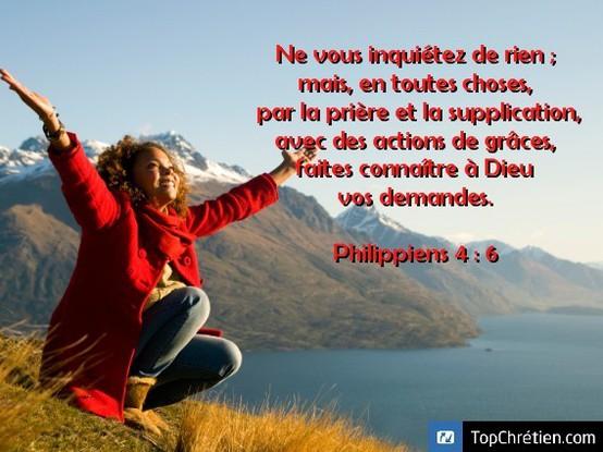 Philippiens 4:6