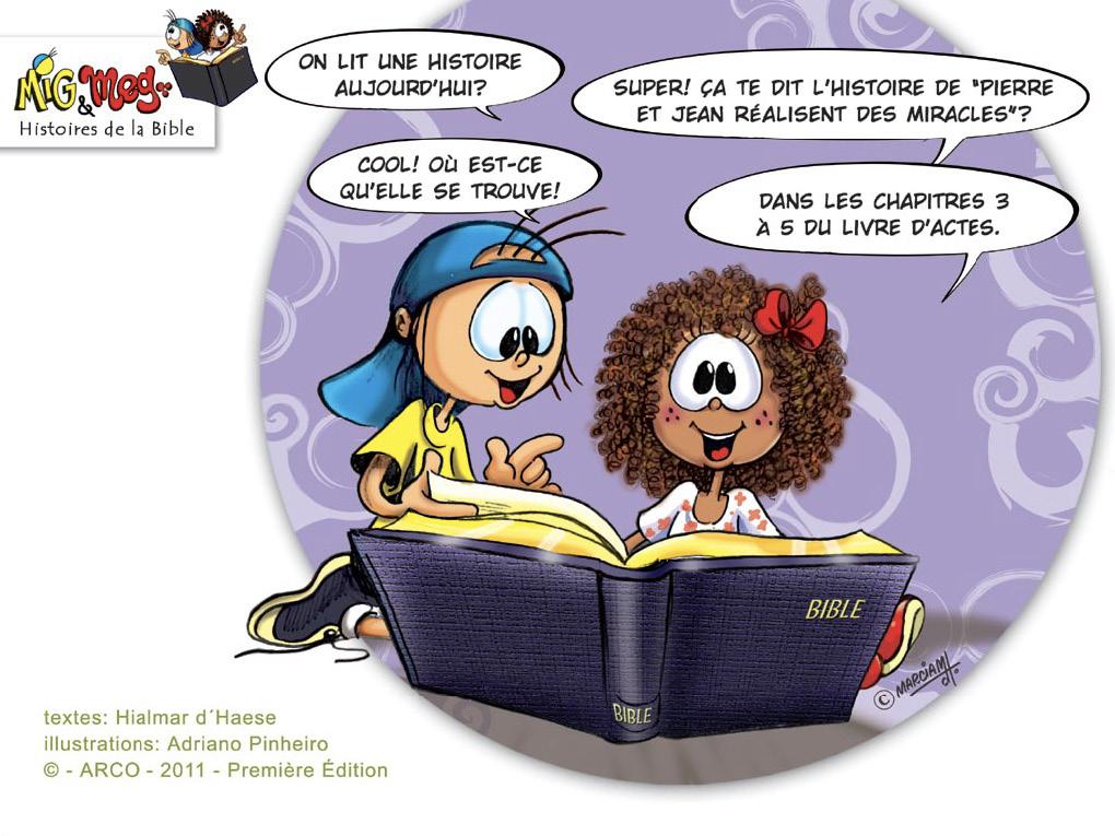 Pierre et Jean réalisent des miracles - page 1