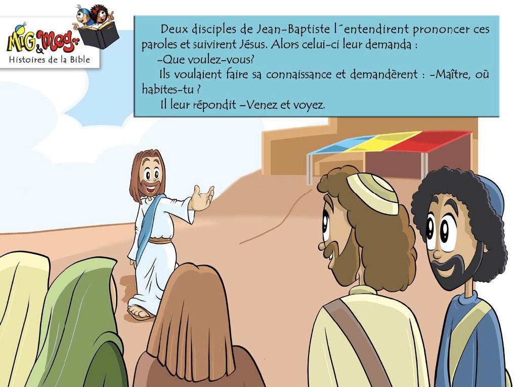 Jésus appelle ses disciples - page 3