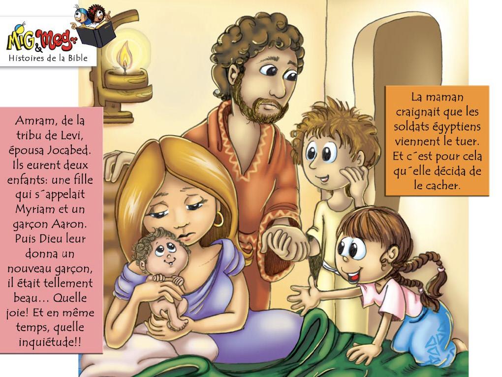 La naissance de Moïse - page 5