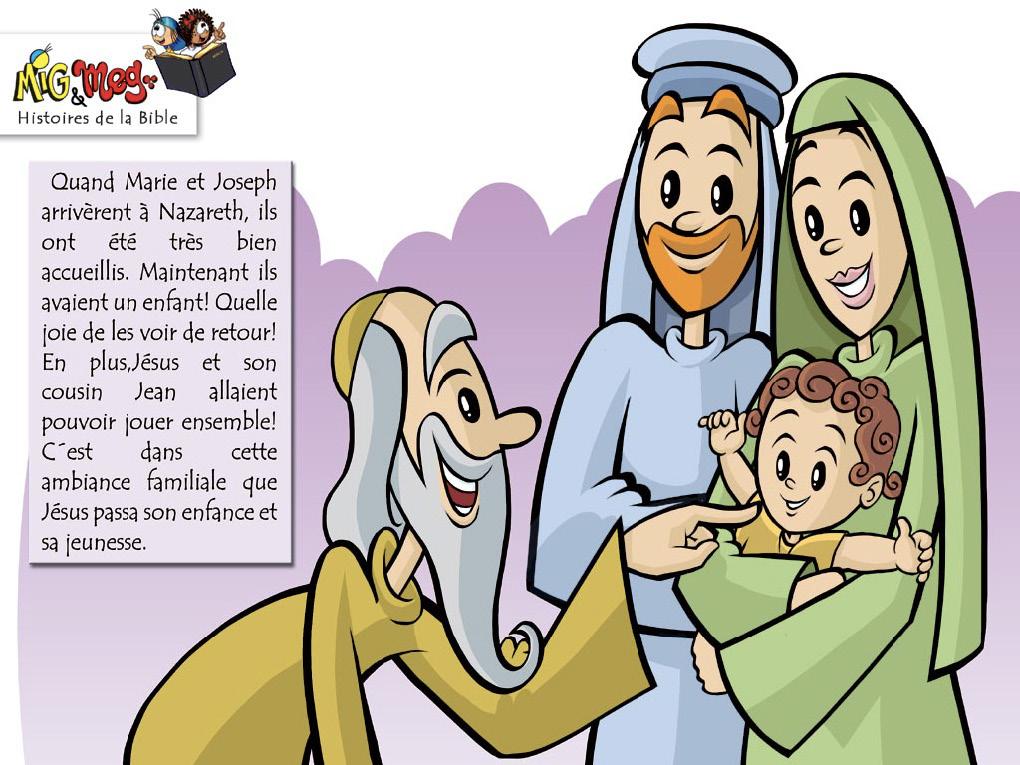 Jésus retourne à Nazareth - page 4