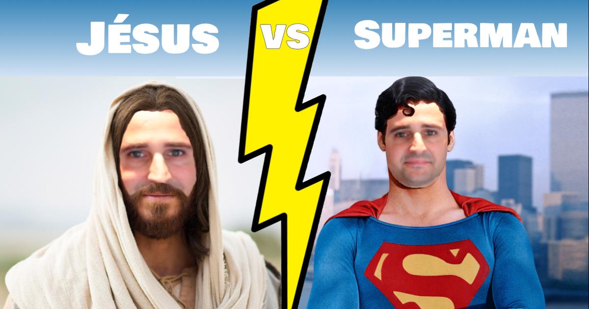Jésus VS Superman : sur qui vas-tu miser ?