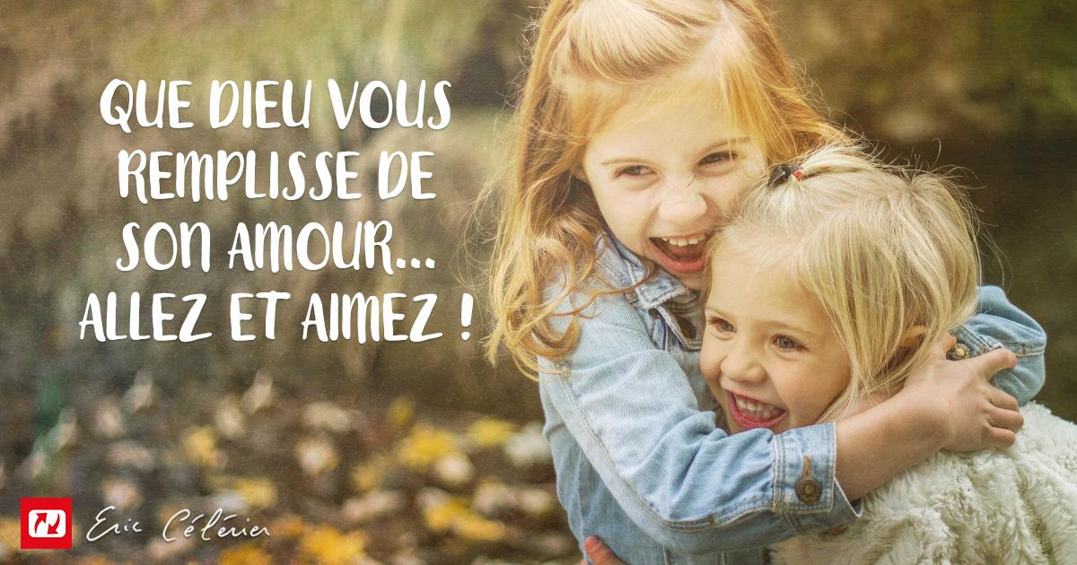 Mon ami(e), l'amour est la clé des relations humaines !