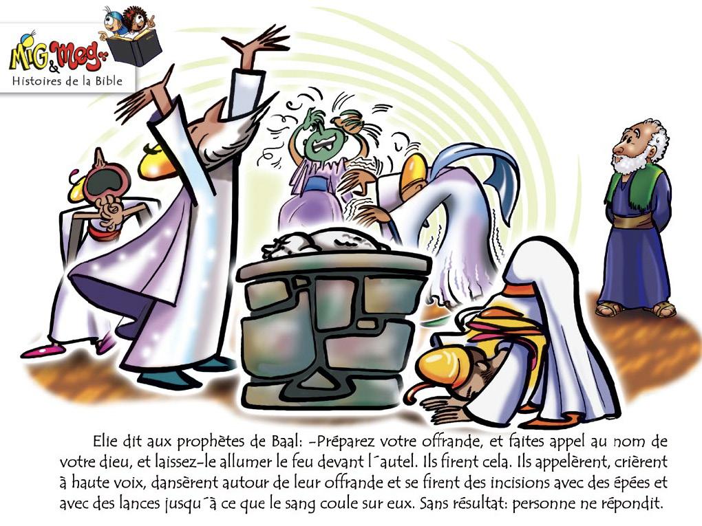 Elie et les prophètes de Baal - page 9