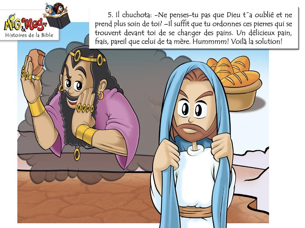 La tentation de Jésus - page 5