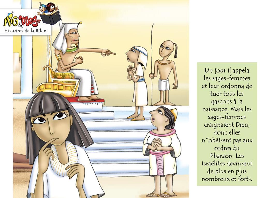 La naissance de Moïse - page 3