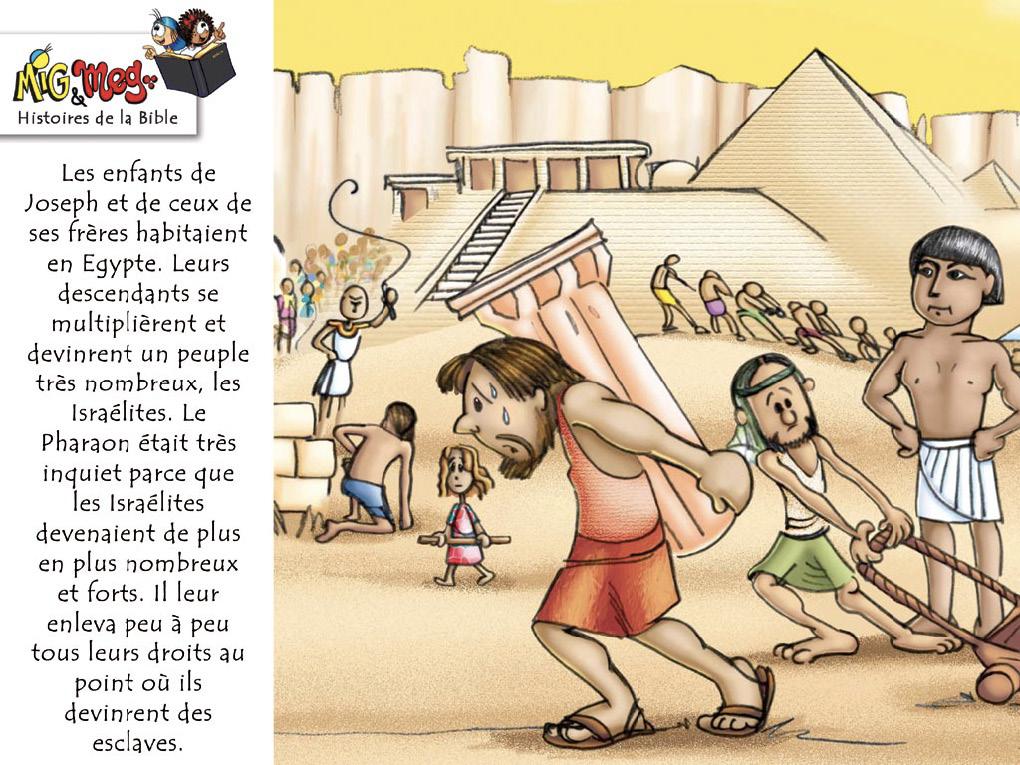 La naissance de Moïse - page 2