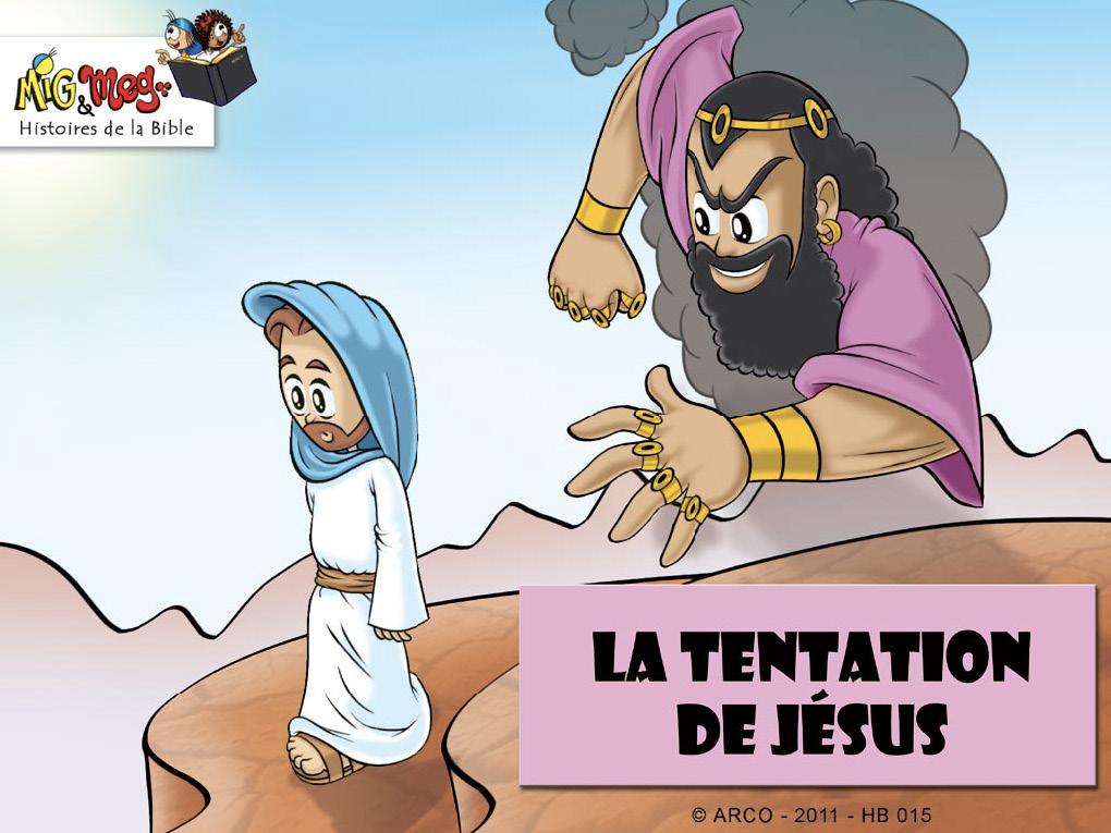 La tentation de Jésus