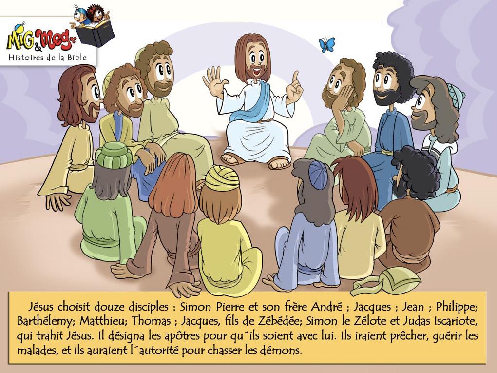 Jésus appelle ses disciples - page 14