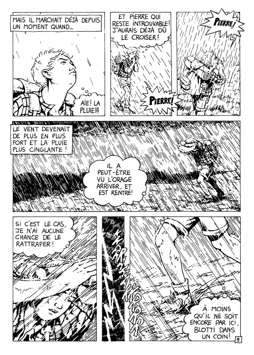 Les randonneurs - page 9