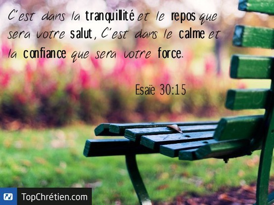 Esaïe 30:15